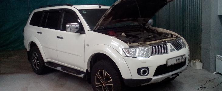 Чип-тюнинг Mitsubishi Pajero Sport 2014 г.в.