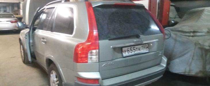 Чип-тюнинг Volvo XC90 2014 г.в.