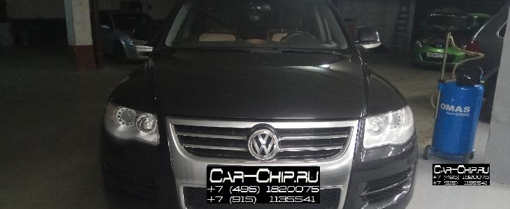 Чип-тюнинг Volkswagen Touareg  2009 г.в.