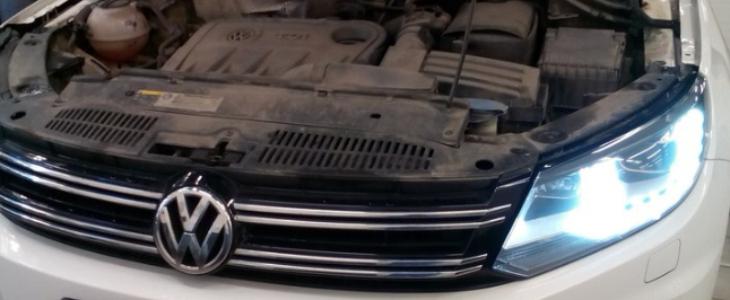 Отключение EGR Volkswagen Tiguan 2015 г.в.