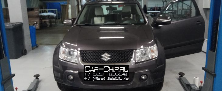 Чип-тюнинг Suzuki Grand Vitara