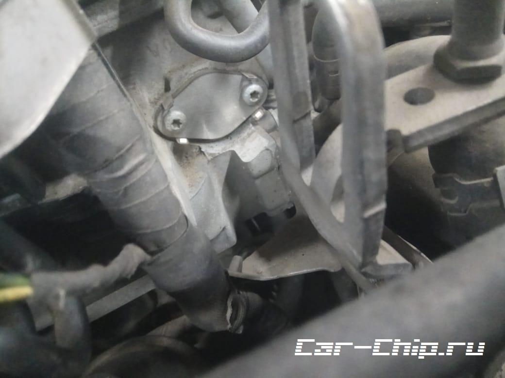 Удаление ERG ЕГР тигуан tiguan volkswagen
