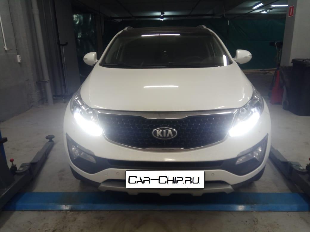 Чип-тюнинг KIA Sportage Car-chip.ru