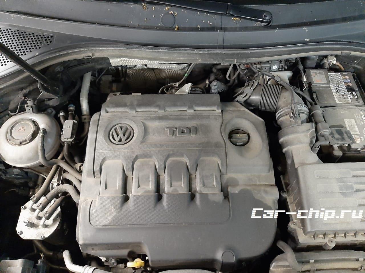 чип-тюнинг Volkswagen Tiguan 2.0 TDI2018 г.в. DBGC