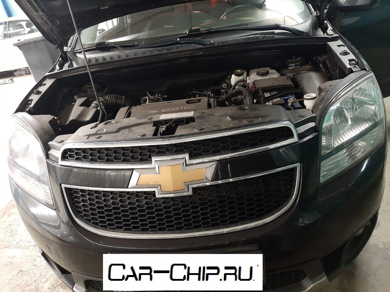 Специалистами компании Car-Chip выполненооптимизация штатного ПО, перевод на евро2Chevrolet Orlando 1.8 140л.с. 2012 г.в., использовалась программа от НПО АДАКТ.